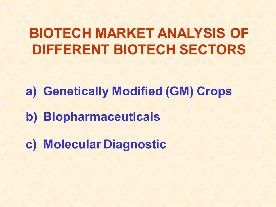 CURRENT STATUS OF BIOTECH RESEARCH IN PAKISTAN