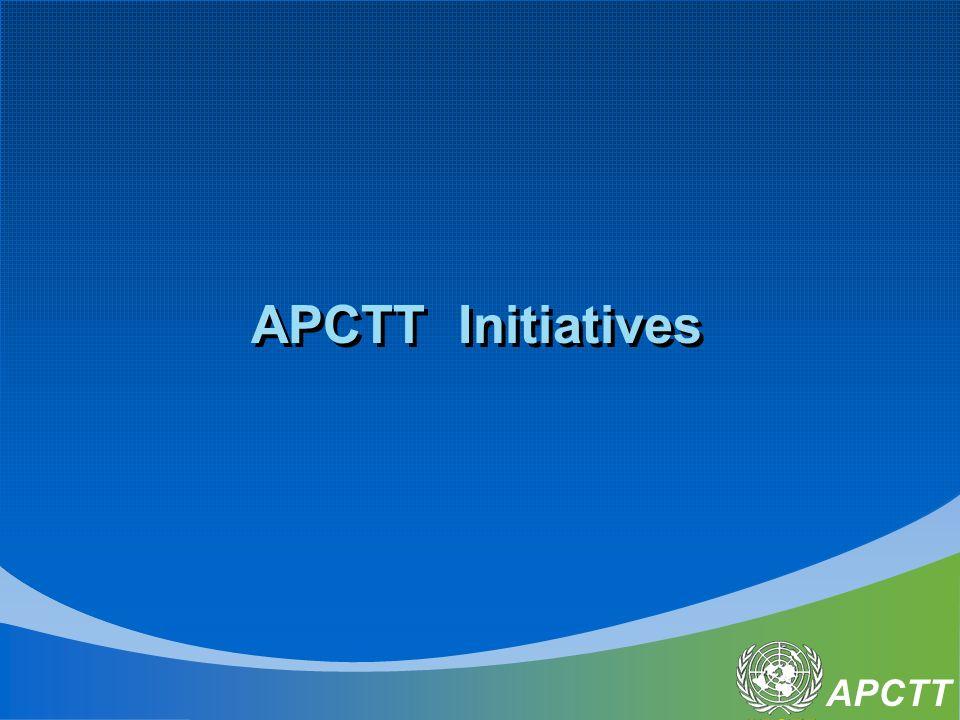 APCTT APCTT Initiatives