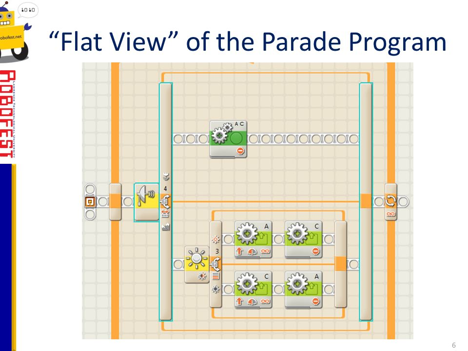 Flat View of the Parade Program 6