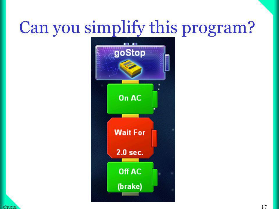 17chung Can you simplify this program