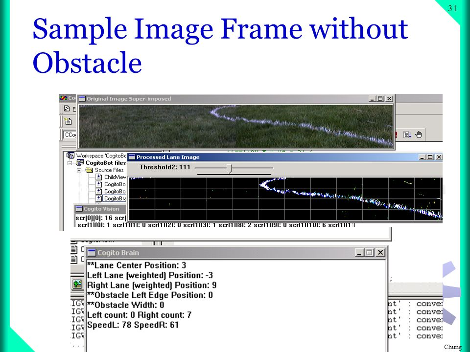 Copyright Chung 30 Sample Image Frame without Obstacle