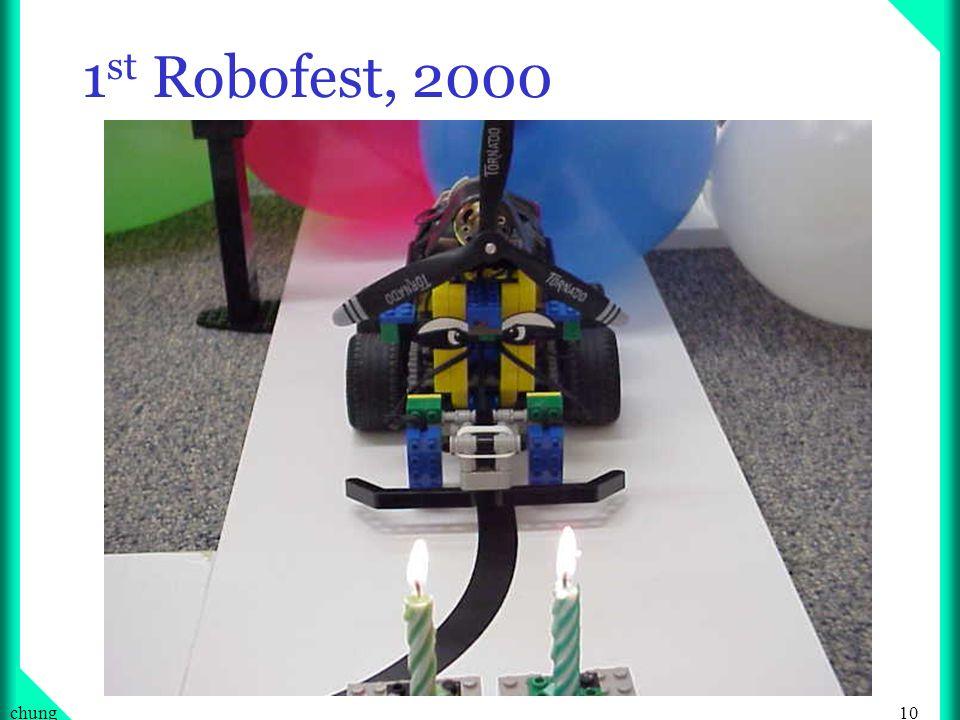 10chung 1 st Robofest, 2000