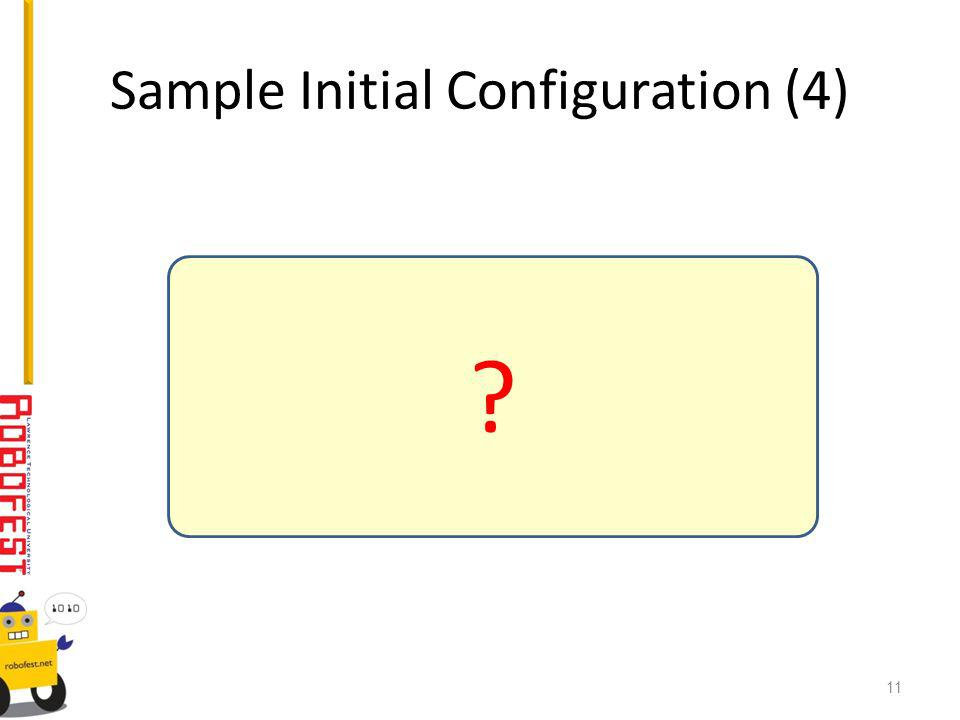 Sample Initial Configuration (4) 11
