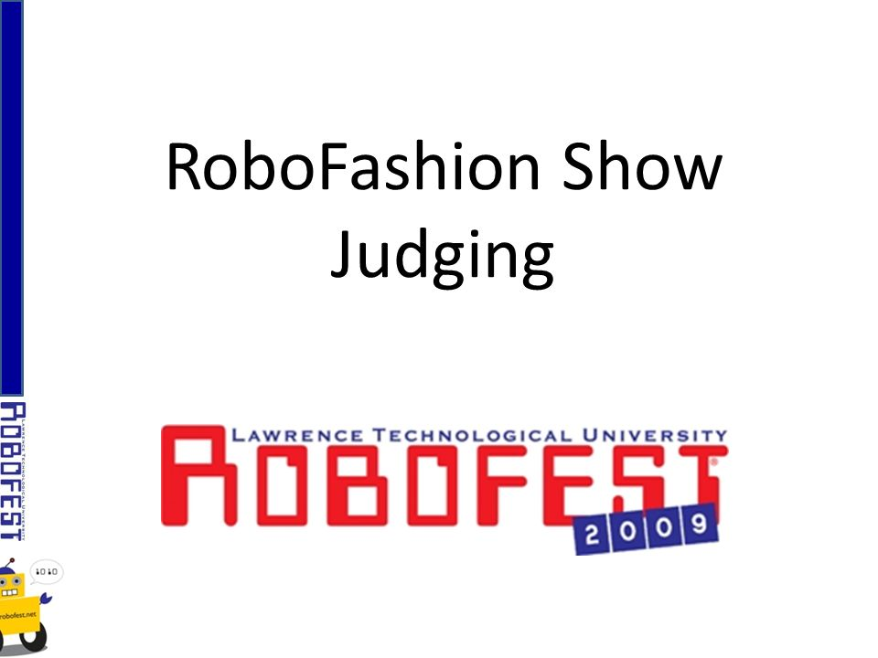 RoboFashion Show Judging