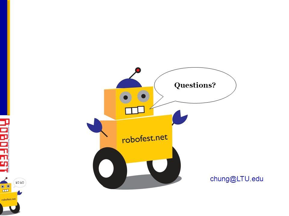 chung@LTU.edu Questions?