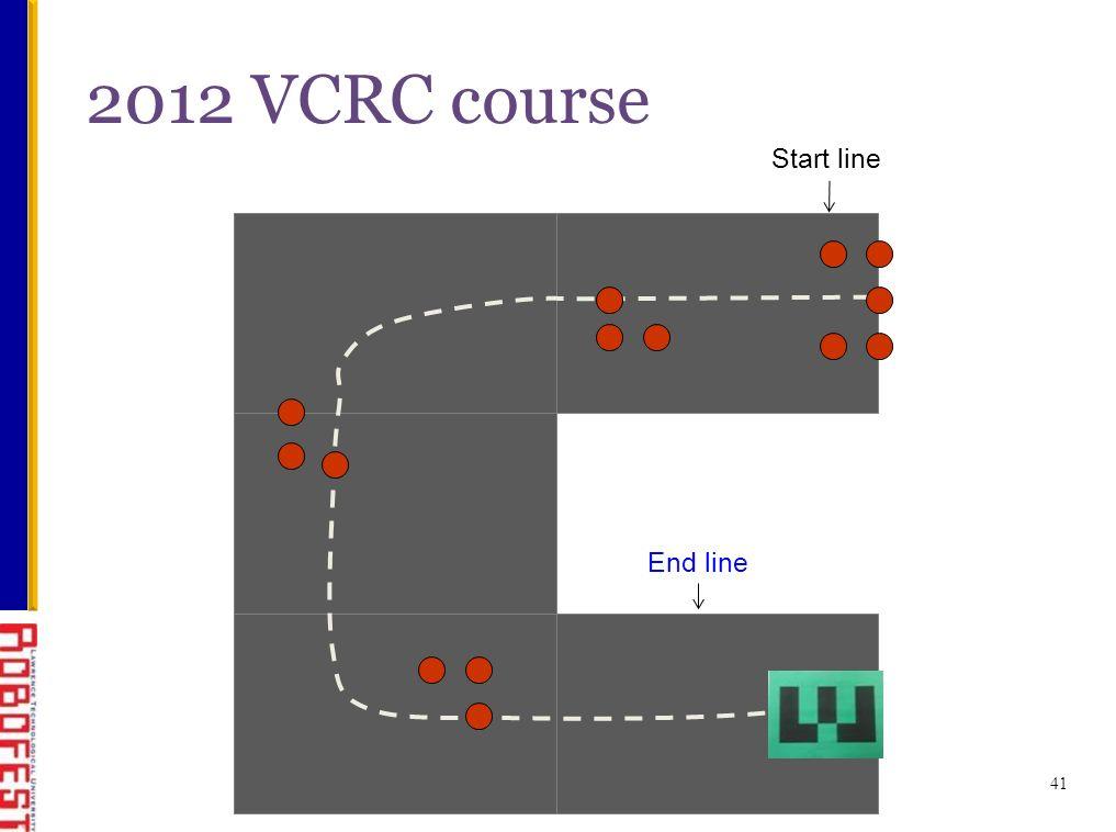 Start line 2012 VCRC course 41 End line