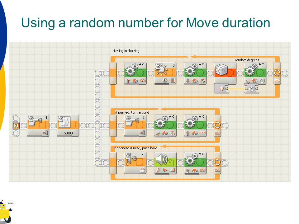 Using a random number for Move duration