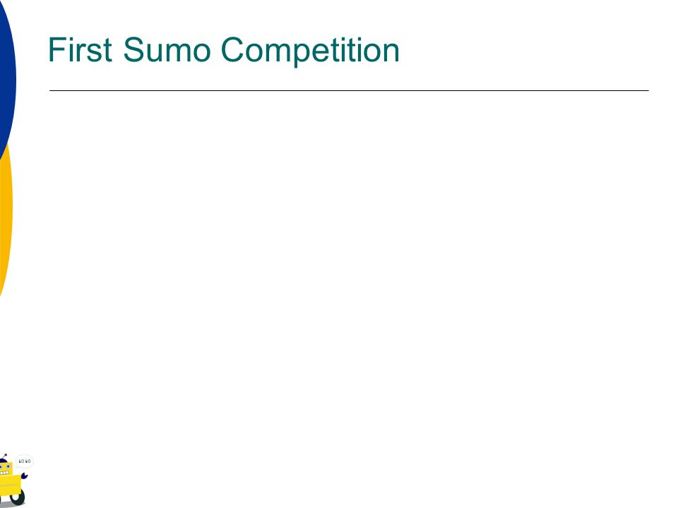 First Sumo Competition