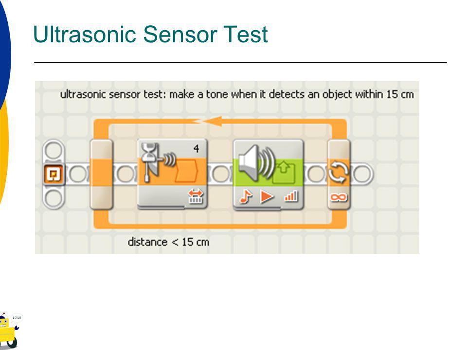Ultrasonic Sensor Test