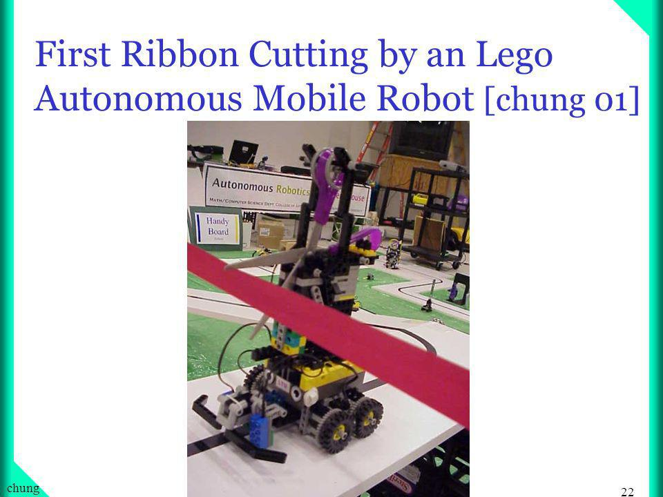 21 chung First Raffle Ticket chosen by a Mobile Autonomous Robot [chung 4-15-00]