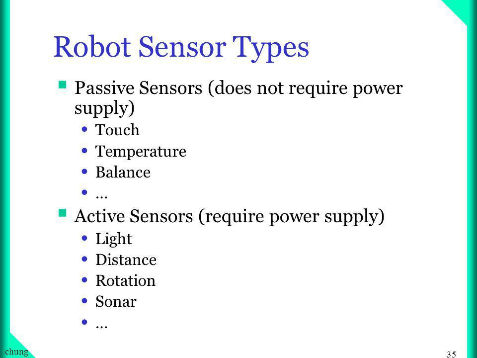 34 chung Sensors of Human Eyes Ears Nose Skin Tongue Equilibrium: Balance … 6 th sense(?)