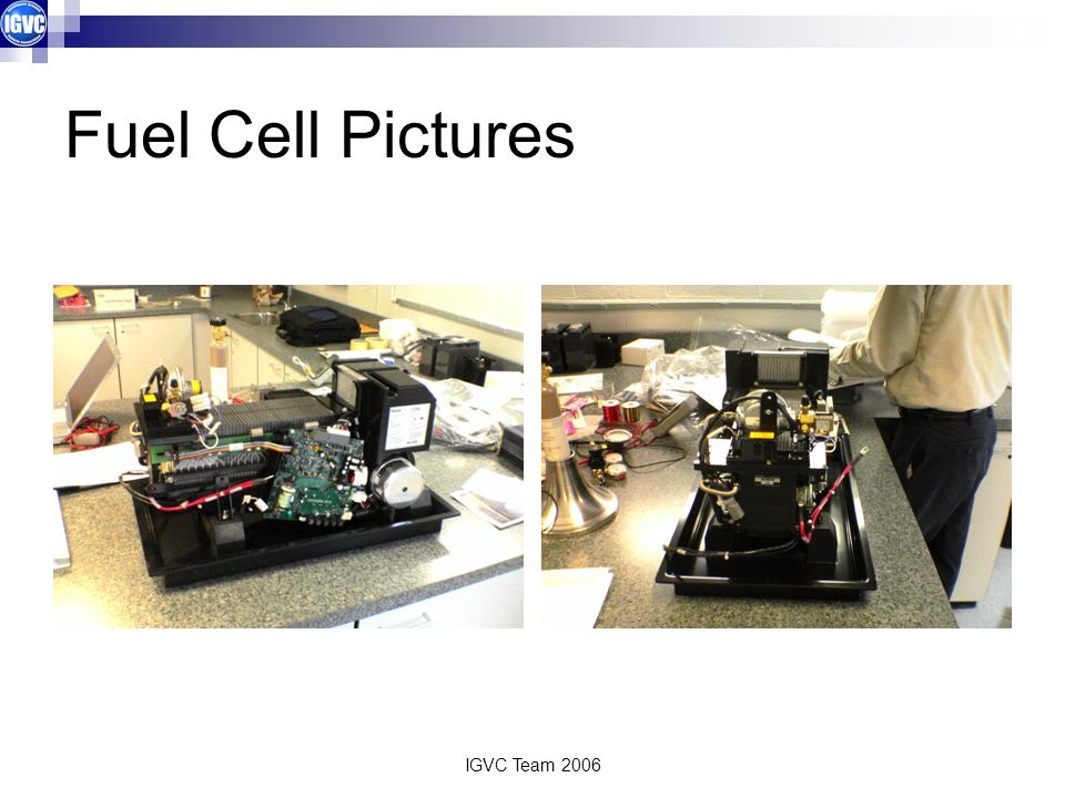 IGVC Team 2006 Fuel Cell Pictures
