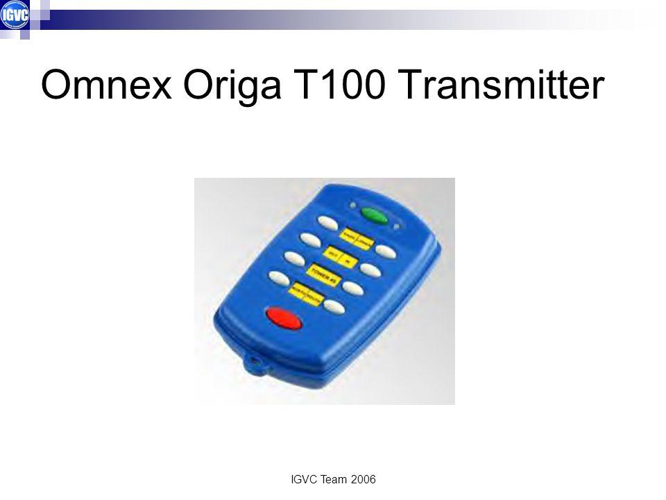 IGVC Team 2006 Omnex Origa T100 Transmitter