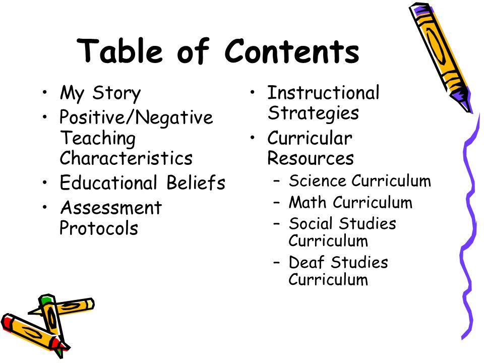 Curricular Resources oScience Curriculum oMath Curriculum oSocial Studies Curriculum oDeaf Studies Curriculum