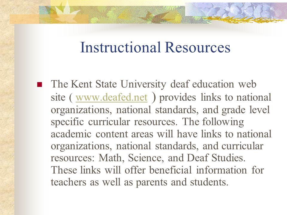 Instructional Resources Mathematics