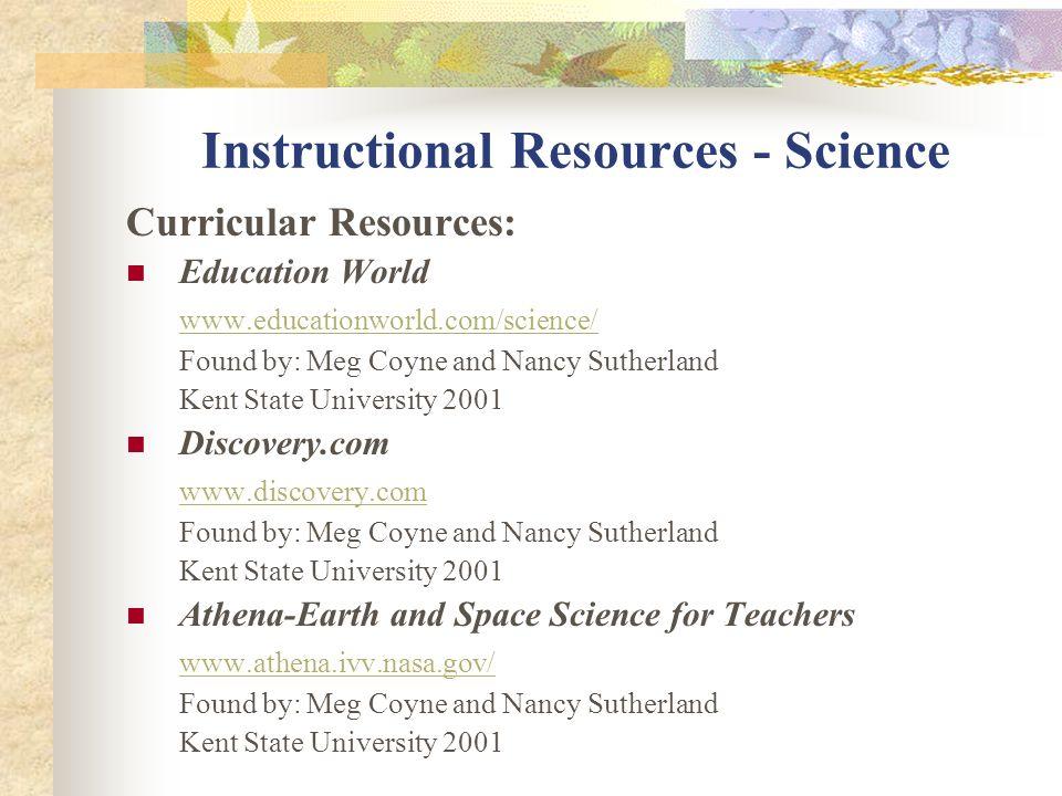 Instructional Resources Deaf Studies