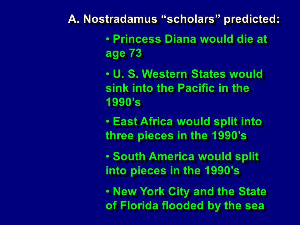 Princess Diana would die at age 73 U. S.