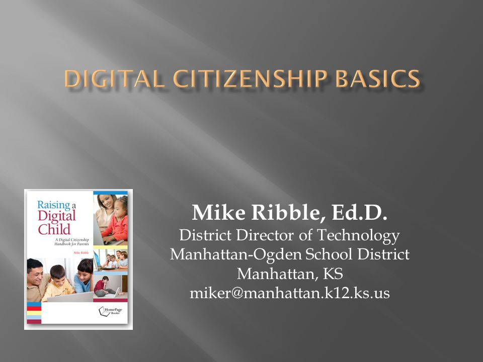 Mike Ribble, Ed.D.
