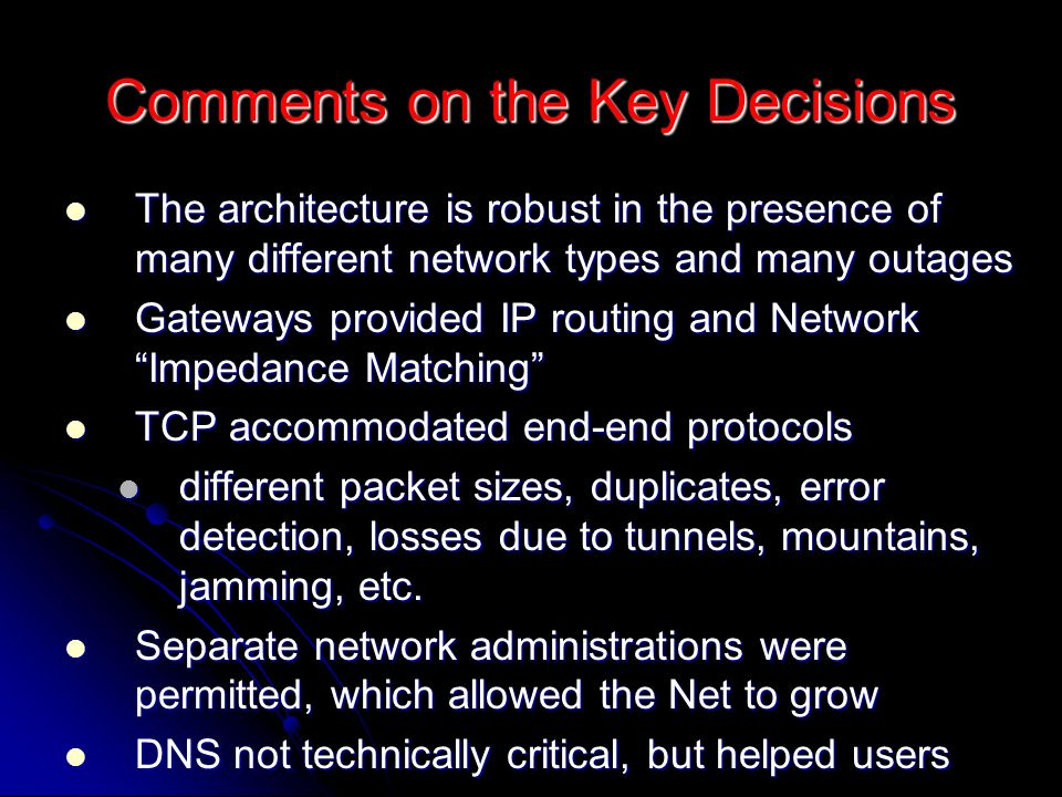 Digital Object Architecture: Motivation To reformulate the Internet architecture around the notion of uniquely identifiable data structures To reformulate the Internet architecture around the notion of uniquely identifiable data structures Enabling existing and new types of information to be reliably managed and accessed in the Internet environment over long periods of time Enabling existing and new types of information to be reliably managed and accessed in the Internet environment over long periods of time Providing mechanisms to stimulate innovation, the creation of dynamic new forms of expression and to manifest older forms Providing mechanisms to stimulate innovation, the creation of dynamic new forms of expression and to manifest older forms While supporting intellectual property protection, fine- grained access control, and enable well-formed business practices to emerge While supporting intellectual property protection, fine- grained access control, and enable well-formed business practices to emerge