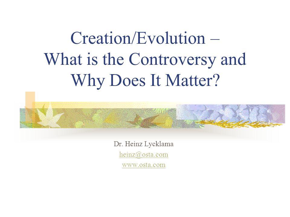 Basic Assumptions of Evolution 1.Non-living things gave rise to living matter, i.e.