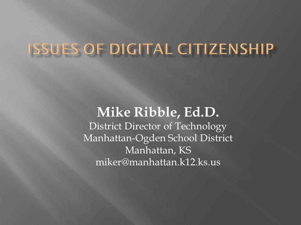 Mike Ribble, Ed.D.