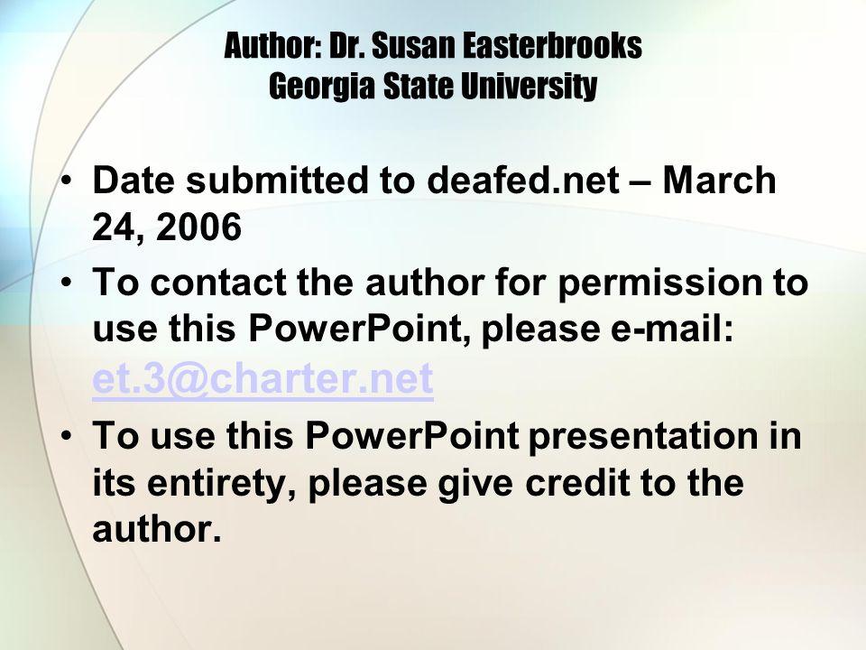 Author: Dr.