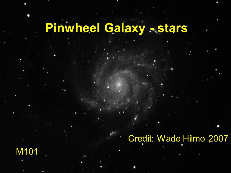 Pinwheel Galaxy - stars M101