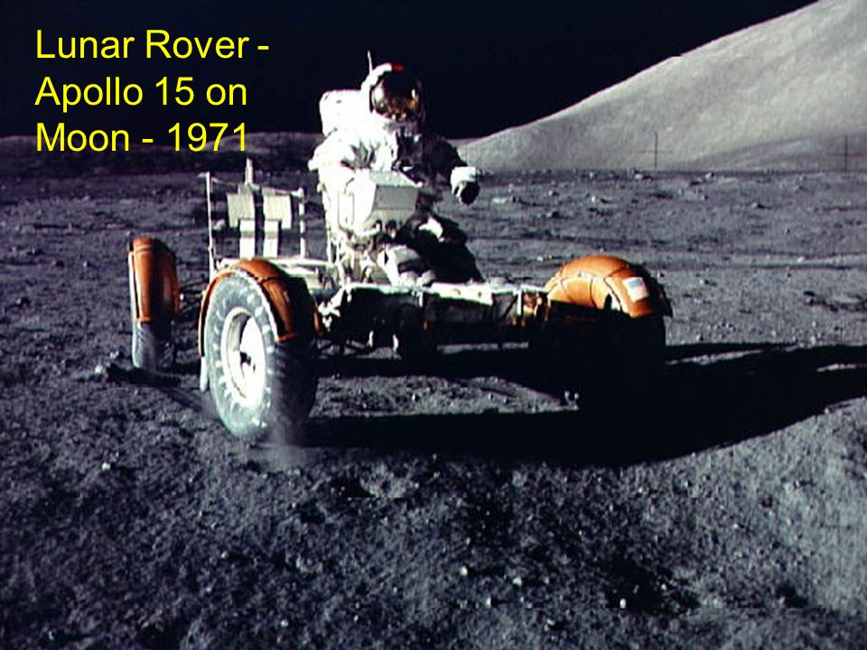 Lunar Rover - Apollo 15 on Moon
