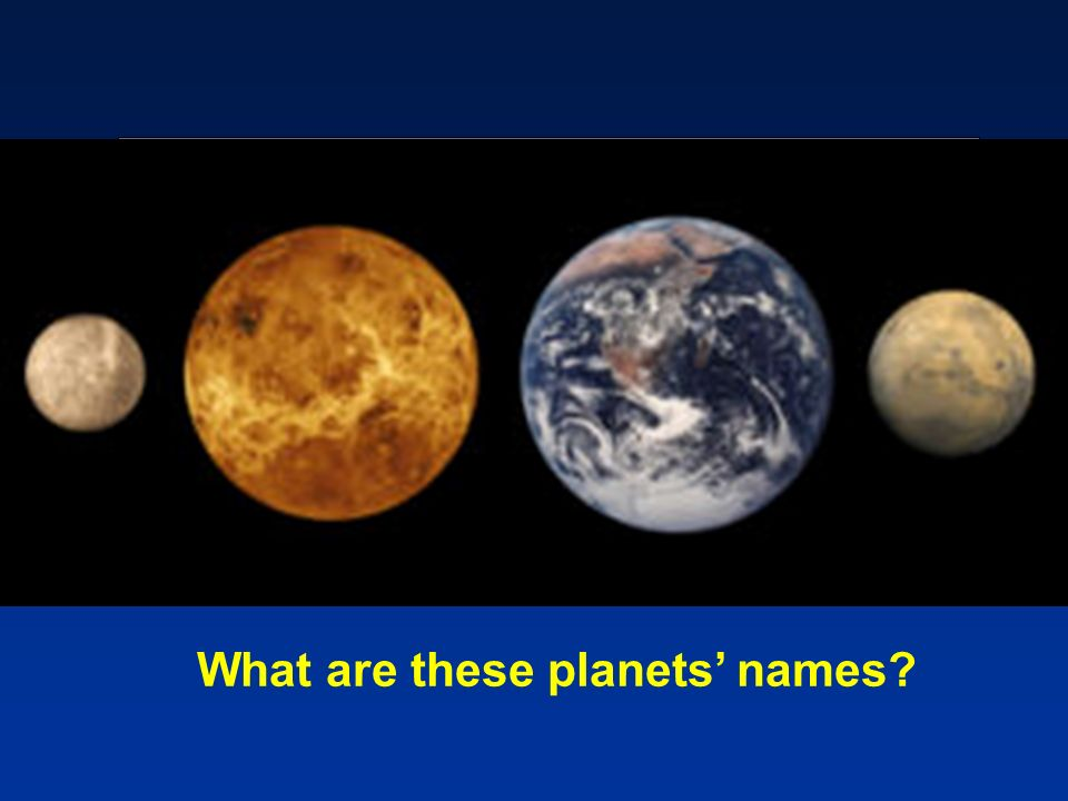 What are these planets names