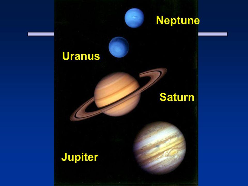 Jupiter Saturn Uranus Neptune