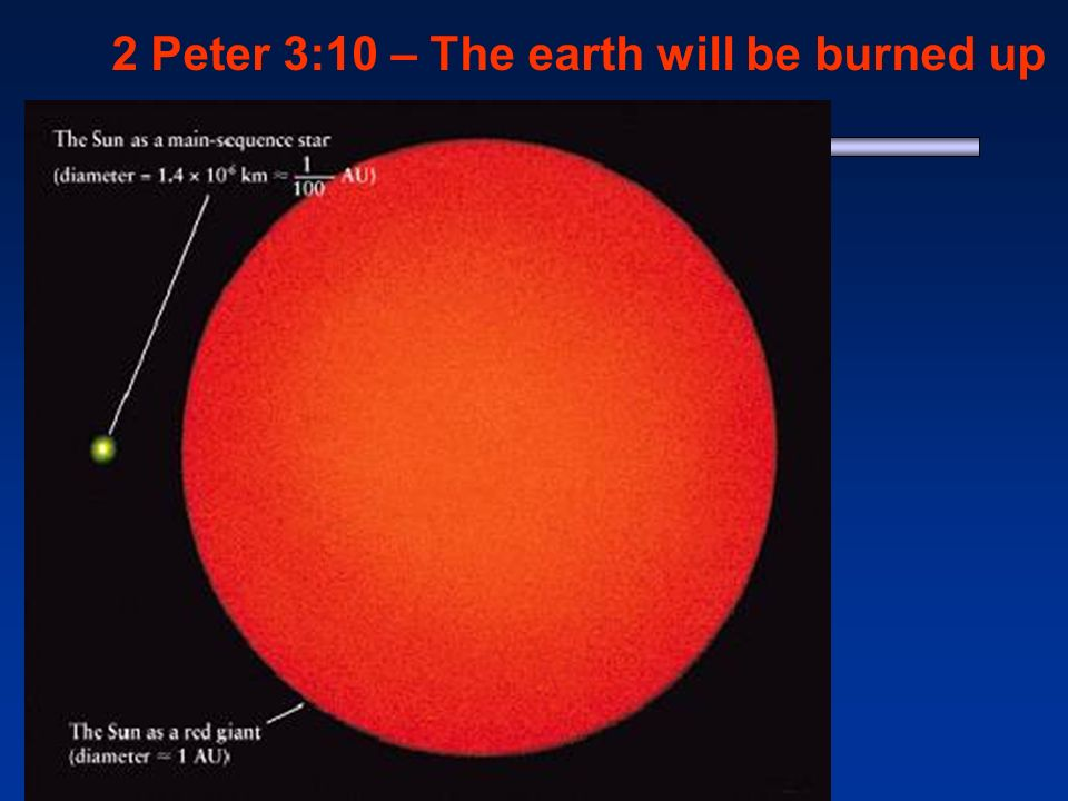 2 Peter 3:10 – The earth will be burned up 1 - Jasper