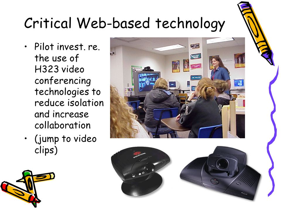 Critical Web-based technology Pilot invest. re.