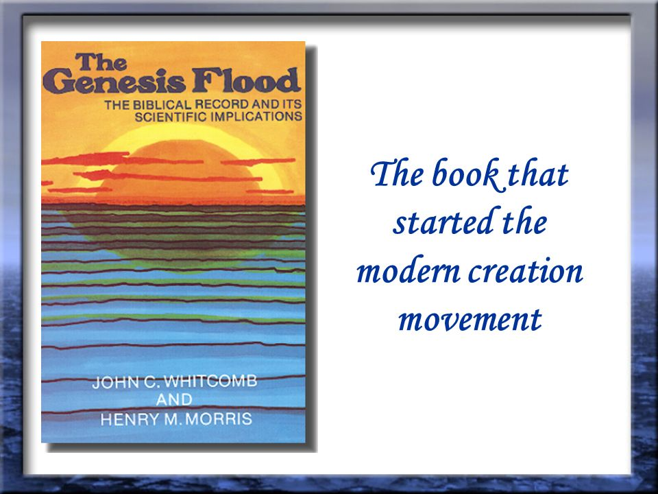 The book that started the modern creation movement