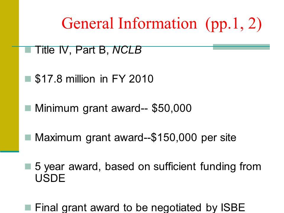 Program Specifications (p.