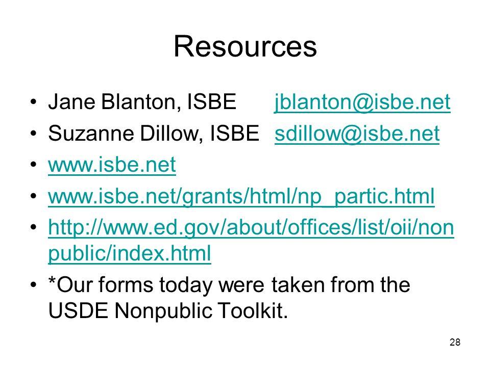 Resources Jane Blanton, ISBEjblanton@isbe.netjblanton@isbe.net Suzanne Dillow, ISBEsdillow@isbe.netsdillow@isbe.net www.isbe.net www.isbe.net/grants/h