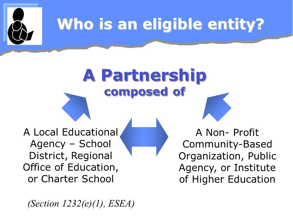 Who is an eligible entity.