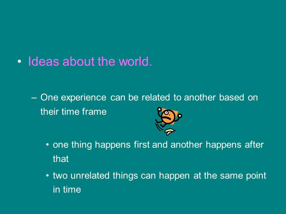 Ideas about the world.
