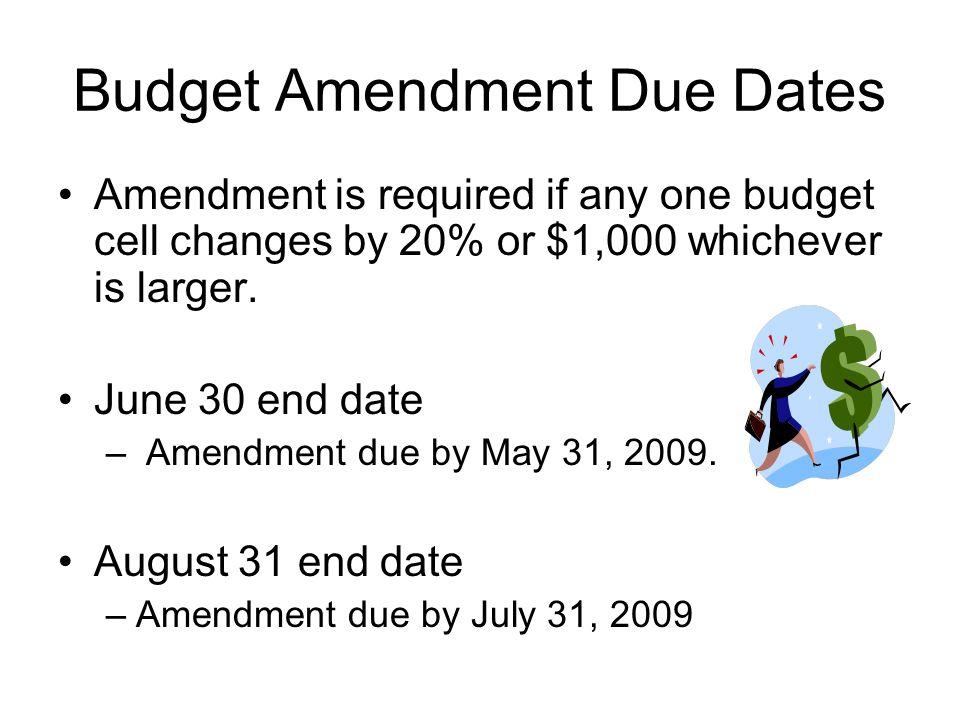 Where Do I Find Budgets & Amendment Forms.