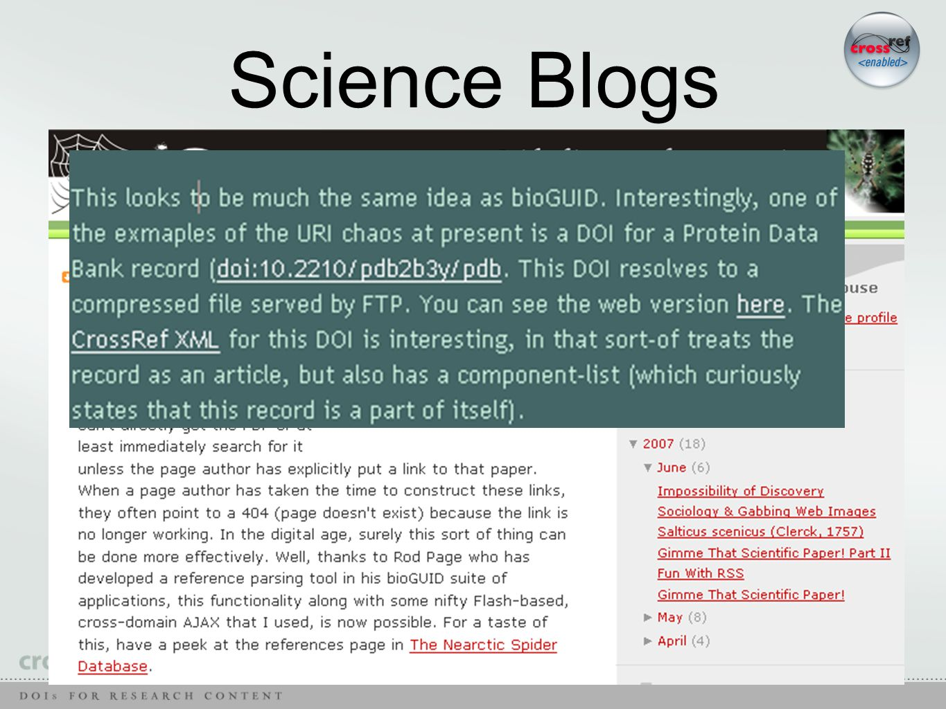 Science Blogs