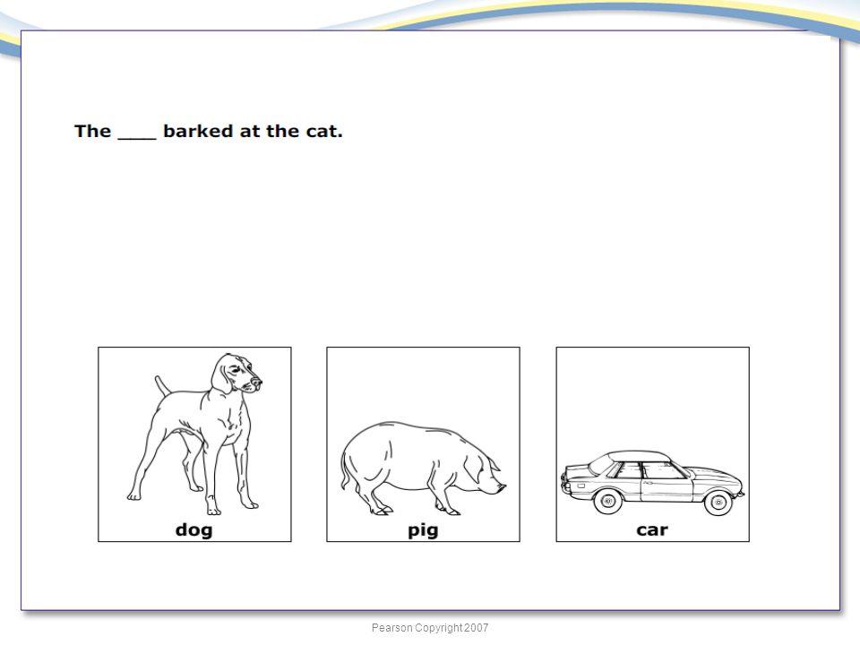 Pearson Copyright 2007 31