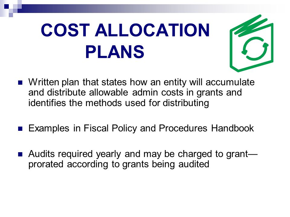 Evaluation Funds must included in budget for evaluation purposes, function 2620.