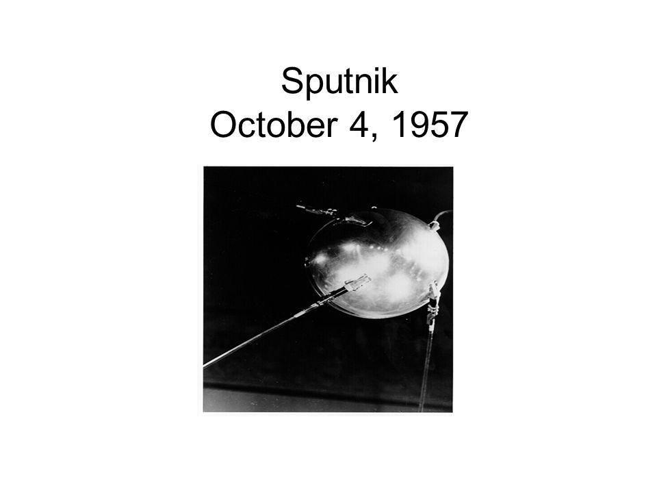 Sputnik October 4, 1957