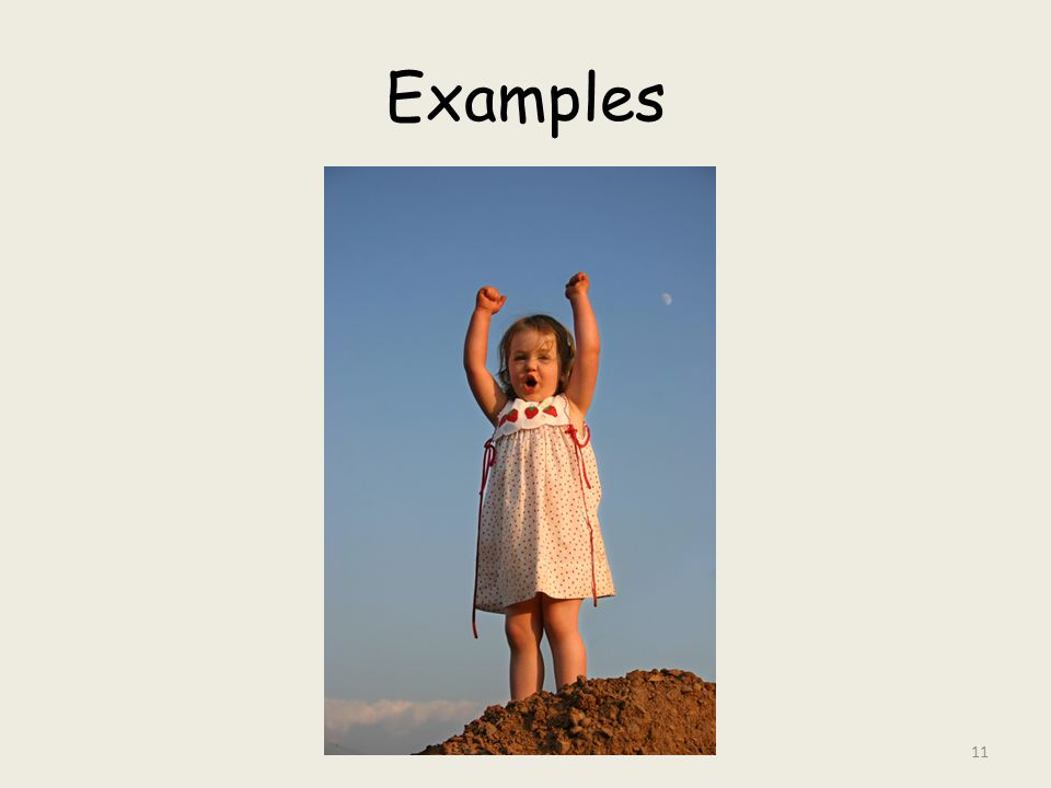 Examples 11