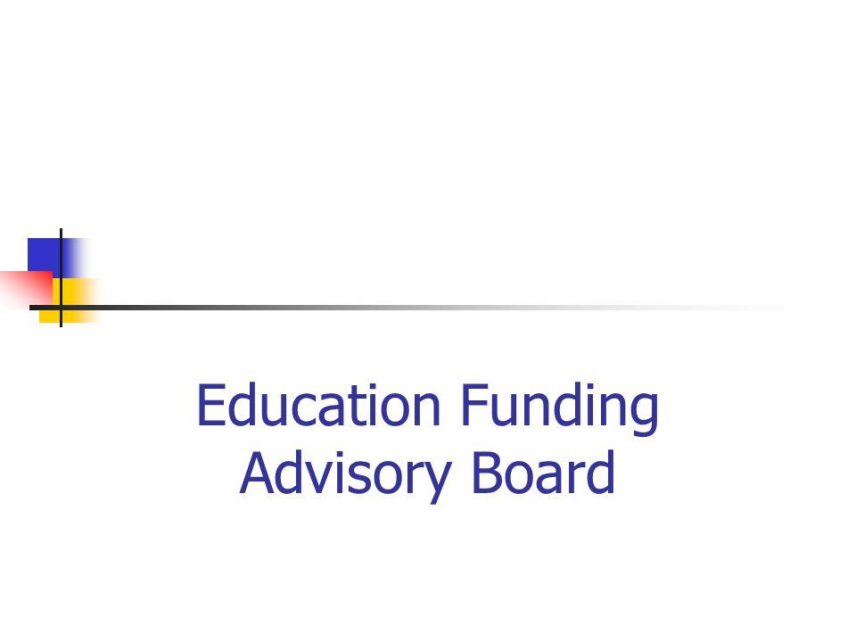 Education Funding Advisory Board