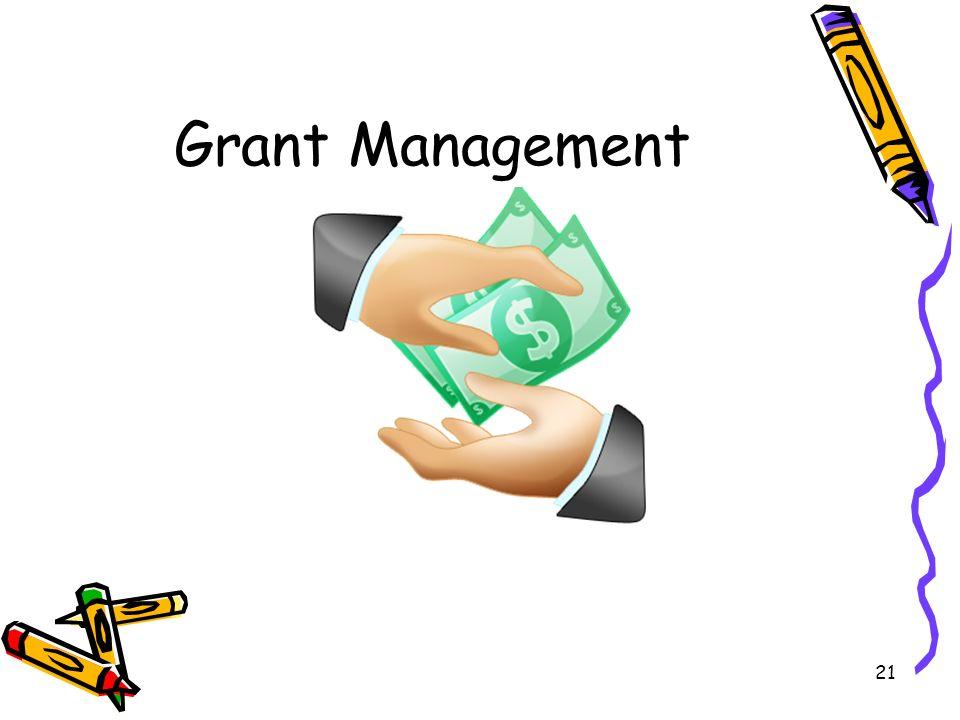 21 Grant Management