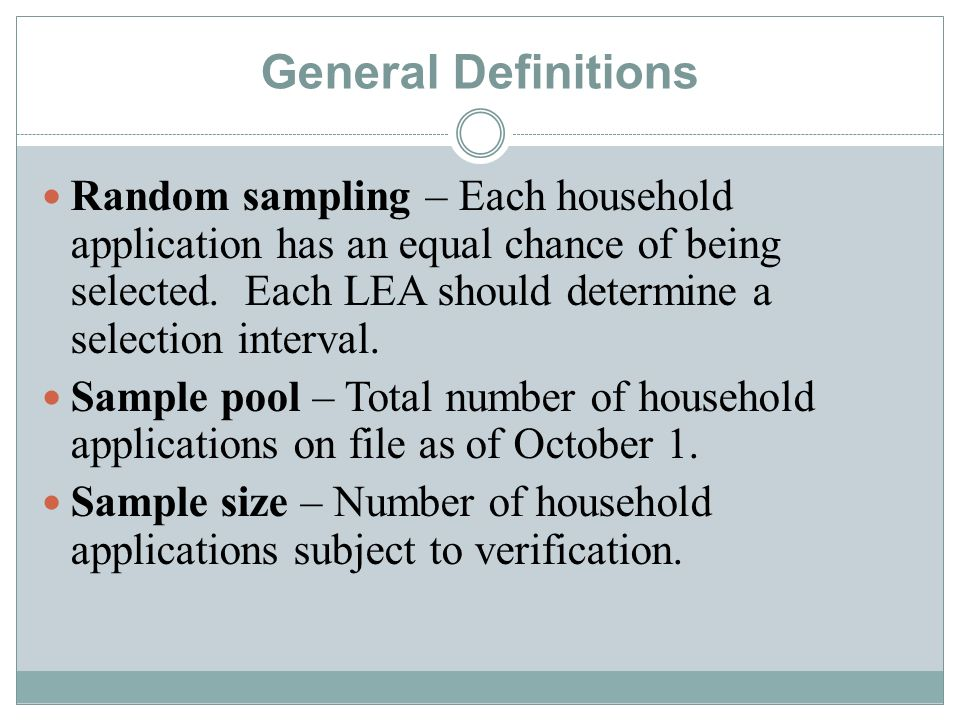 Applications based on Categorical eligibility ARE NOT included in application count.