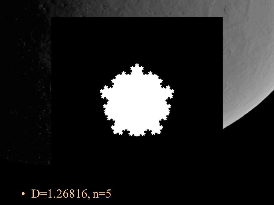 D=1.26816, n=5
