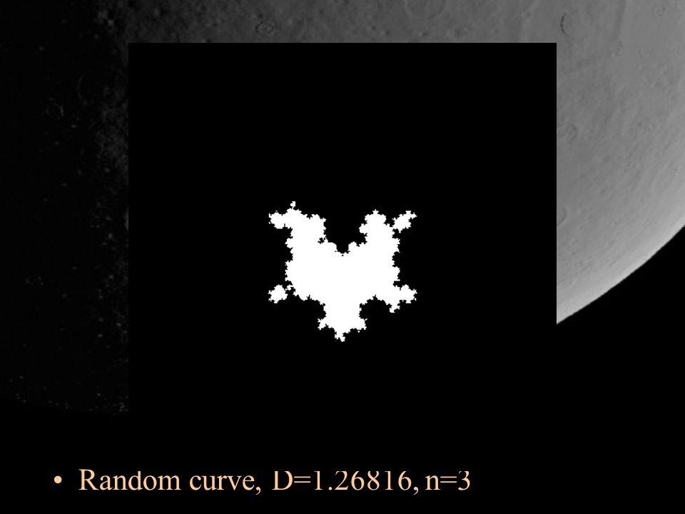 Random curve, D=1.26816, n=3