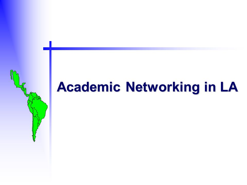 Academic Networking in LA