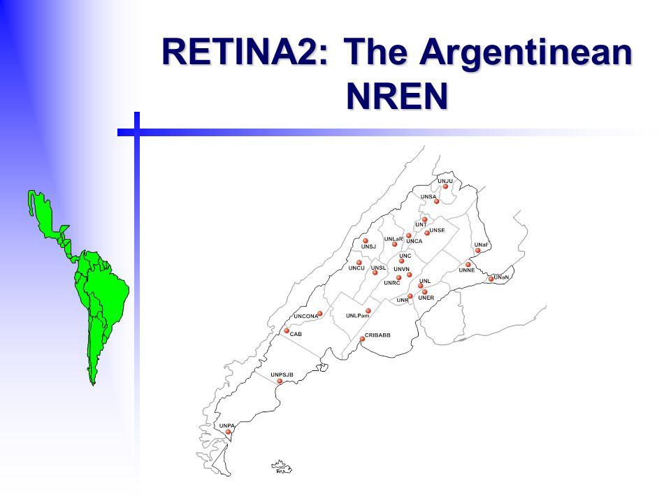 RETINA2: The Argentinean NREN